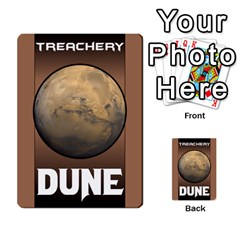 Duna   Spice And Treachery By Monkeyml   Multi Purpose Cards (rectangle)   Xvj9c0n4b5fy   Www Artscow Com Back 32