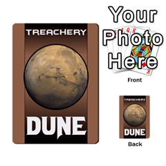 Duna   Spice And Treachery By Monkeyml   Multi Purpose Cards (rectangle)   Xvj9c0n4b5fy   Www Artscow Com Back 47