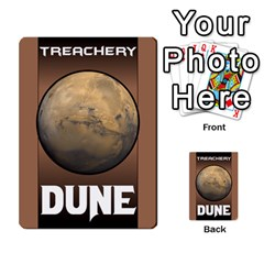 Duna   Spice And Treachery By Monkeyml   Multi Purpose Cards (rectangle)   Xvj9c0n4b5fy   Www Artscow Com Back 48
