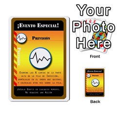 Pandemia 3 Multi Reverso By Jorge   Multi Purpose Cards (rectangle)   Z7o1etmay4ko   Www Artscow Com Front 2