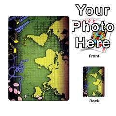 Pandemia 3 Multi Reverso By Jorge   Multi Purpose Cards (rectangle)   Z7o1etmay4ko   Www Artscow Com Back 20