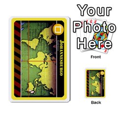 Pandemia 3 Multi Reverso By Jorge   Multi Purpose Cards (rectangle)   Z7o1etmay4ko   Www Artscow Com Front 25