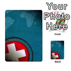 Pandemia 3 Multi Reverso By Jorge   Multi Purpose Cards (rectangle)   Z7o1etmay4ko   Www Artscow Com Back 3