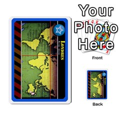 Pandemia 3 Multi Reverso By Jorge   Multi Purpose Cards (rectangle)   Z7o1etmay4ko   Www Artscow Com Front 26