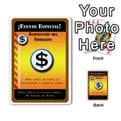 Pandemia 3 Multi Reverso By Jorge   Multi Purpose Cards (rectangle)   Z7o1etmay4ko   Www Artscow Com Front 4