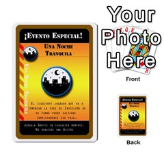 Pandemia 3 Multi Reverso By Jorge   Multi Purpose Cards (rectangle)   Z7o1etmay4ko   Www Artscow Com Front 5