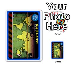 Pandemia 3 Multi Reverso By Jorge   Multi Purpose Cards (rectangle)   Z7o1etmay4ko   Www Artscow Com Front 45