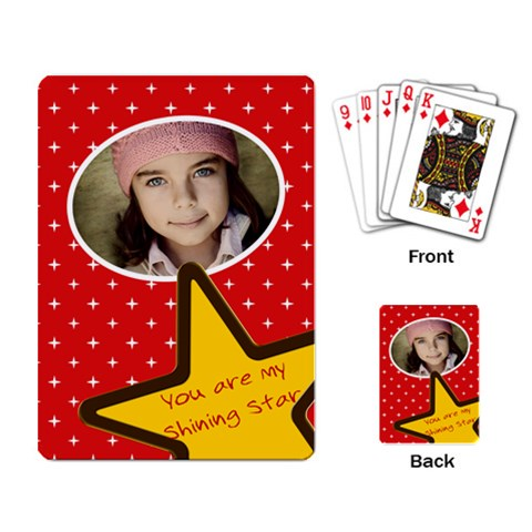 Deck Shining Star By Jorge   Playing Cards Single Design   Mpb1y2298ijz   Www Artscow Com Back
