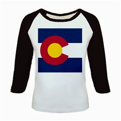 Colorado Flag Kids Baseball Jersey by bulldogblues