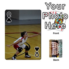 Queen Flames Cards By Amanda   Playing Cards 54 Designs   3j9eedqmv4gb   Www Artscow Com Front - SpadeQ