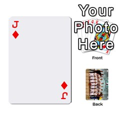 Jack Flames Cards By Amanda   Playing Cards 54 Designs   3j9eedqmv4gb   Www Artscow Com Front - DiamondJ