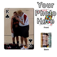 King Flames Cards By Amanda   Playing Cards 54 Designs   3j9eedqmv4gb   Www Artscow Com Front - ClubK