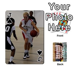 Jack Flames Cards By Amanda   Playing Cards 54 Designs   3j9eedqmv4gb   Www Artscow Com Front - SpadeJ