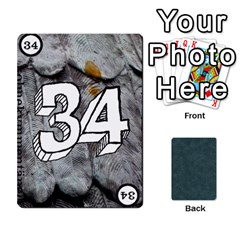 No Thanks335 By Mattias Bj?rnstr?m   Playing Cards 54 Designs (rectangle)   Kkl0d85kb42x   Www Artscow Com Front - Spade2