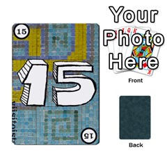 No Thanks335 By Mattias Bj?rnstr?m   Playing Cards 54 Designs (rectangle)   Kkl0d85kb42x   Www Artscow Com Front - Heart3