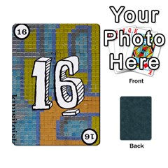 No Thanks335 By Mattias Bj?rnstr?m   Playing Cards 54 Designs (rectangle)   Kkl0d85kb42x   Www Artscow Com Front - Heart4