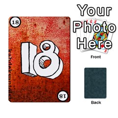 No Thanks335 By Mattias Bj?rnstr?m   Playing Cards 54 Designs (rectangle)   Kkl0d85kb42x   Www Artscow Com Front - Heart6