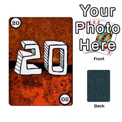 No Thanks335 By Mattias Bj?rnstr?m   Playing Cards 54 Designs (rectangle)   Kkl0d85kb42x   Www Artscow Com Front - Heart8