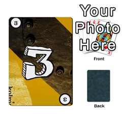 No Thanks335 By Mattias Bj?rnstr?m   Playing Cards 54 Designs (rectangle)   Kkl0d85kb42x   Www Artscow Com Front - Spade4