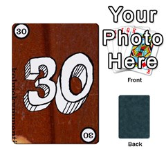 No Thanks335 By Mattias Bj?rnstr?m   Playing Cards 54 Designs (rectangle)   Kkl0d85kb42x   Www Artscow Com Front - Diamond5