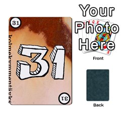 No Thanks335 By Mattias Bj?rnstr?m   Playing Cards 54 Designs (rectangle)   Kkl0d85kb42x   Www Artscow Com Front - Diamond6