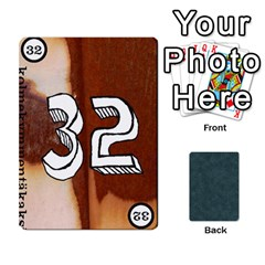 No Thanks335 By Mattias Bj?rnstr?m   Playing Cards 54 Designs (rectangle)   Kkl0d85kb42x   Www Artscow Com Front - Diamond7