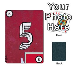No Thanks335 By Mattias Bj?rnstr?m   Playing Cards 54 Designs (rectangle)   Kkl0d85kb42x   Www Artscow Com Front - Spade6