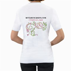 Monogram Shirt By Brookieadkins Yahoo Com   Women s T Shirt (white) (two Sided)   42qb6vnhs19p   Www Artscow Com Back