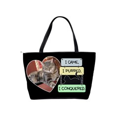 Cat Bag By Lil    Classic Shoulder Handbag   15hsgwa0ihl5   Www Artscow Com Back
