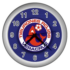 veracruz Wall Clock (Silver) by digitalmonkey