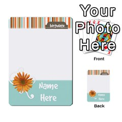 Sweet Blue Matching Game By Spaces For Faces   Multi Purpose Cards (rectangle)   Pco6k5nkjfq6   Www Artscow Com Front 1