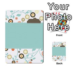 Sweet Blue Matching Game By Spaces For Faces   Multi Purpose Cards (rectangle)   Pco6k5nkjfq6   Www Artscow Com Back 52