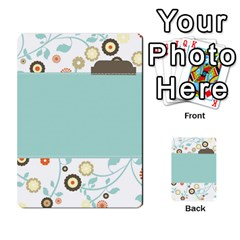 Sweet Blue Matching Game By Spaces For Faces   Multi Purpose Cards (rectangle)   Pco6k5nkjfq6   Www Artscow Com Back 2