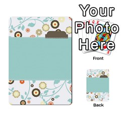 Sweet Blue Matching Game By Spaces For Faces   Multi Purpose Cards (rectangle)   Pco6k5nkjfq6   Www Artscow Com Back 16