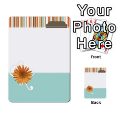 Sweet Blue Matching Game By Spaces For Faces   Multi Purpose Cards (rectangle)   Pco6k5nkjfq6   Www Artscow Com Front 5