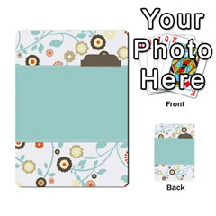 Sweet Blue Matching Game By Spaces For Faces   Multi Purpose Cards (rectangle)   Pco6k5nkjfq6   Www Artscow Com Back 44