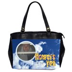 Clouds Friends Oversized Handbag - Oversize Office Handbag (Two Sides)