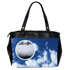 Clouds Friends Oversized Handbag By Catvinnat   Oversize Office Handbag (2 Sides)   8saq8ssev6a1   Www Artscow Com Back
