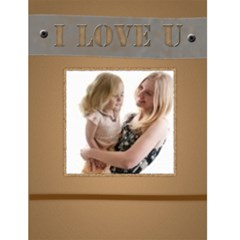 I Love You By Joely   Greeting Card 4 5  X 6    Kwg7g64im8y9   Www Artscow Com Front Cover