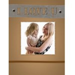 I love you - Greeting Card 4.5  x 6