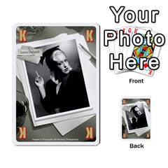 2010 Black Vienna 1 By Steve Sisk   Multi Purpose Cards (rectangle)   Lmrv927n8jdo   Www Artscow Com Front 11