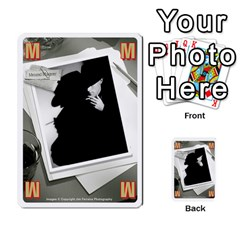 2010 Black Vienna 1 By Steve Sisk   Multi Purpose Cards (rectangle)   Lmrv927n8jdo   Www Artscow Com Front 13