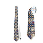 Red, White & Blue Tie - Necktie (Two Side)