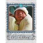It s A Boy Card - Greeting Card 5  x 7