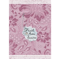 It s A Girl Card By Lil    Greeting Card 5  X 7    Skgj3pm28ebk   Www Artscow Com Back Cover