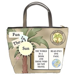 Tropical Travel Bucket Bag By Lil    Bucket Bag   Lvjq3xi63n8k   Www Artscow Com Back