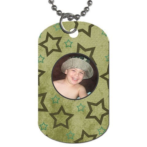 Uncle By Melody Kelley   Dog Tag (one Side)   Mbqgi7hd2e2u   Www Artscow Com Front