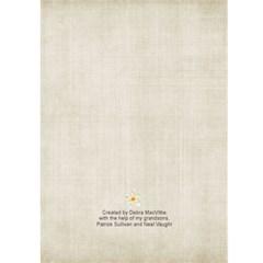 Partick & Neal   Birthday 2 By Debra Macv   Greeting Card 5  X 7    37vdj3ylug9m   Www Artscow Com Back Cover