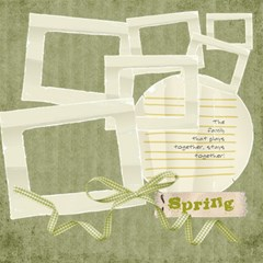 It s A Spring Thing Scrapbook Page By Redhead Scraps   Scrapbook Page 12  X 12    0euq4rjv7rfh   Www Artscow Com 12 x12 Scrapbook Page - 11
