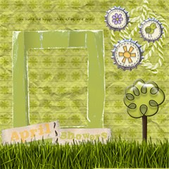 It s A Spring Thing Scrapbook Page By Redhead Scraps   Scrapbook Page 12  X 12    Ewzm39zuc69r   Www Artscow Com 12 x12 Scrapbook Page - 8
